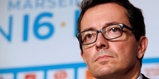 Jacques-Henri Eyraud à Marseille le 21 octobre 2016.