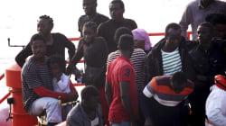Más de cien migrantes rescatados en una noche en el Estrecho de