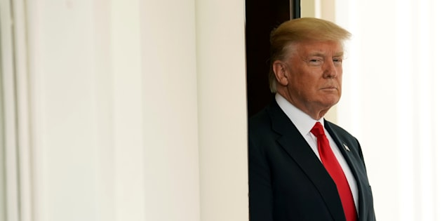 Donald Trump à la Maison Blanche le 31 mai.  REUTERS/Kevin Lamarque