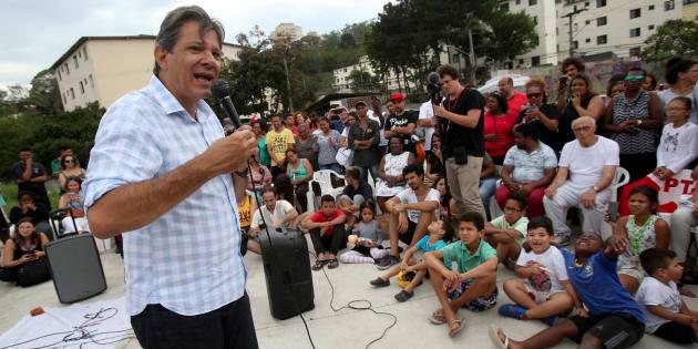 """""""Faltou controle interno nas estatais, isso é claro"""", disse Fernando Haddad (PT)."""