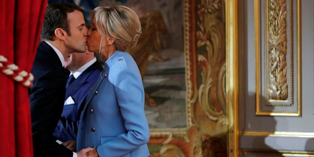 Emmanuel et Brigitte Macron et le Théâtre.