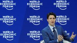 El discurso de Trudeau en Davos destaca los movimientos de #MeToo, Time's Up, y la Marcha de las