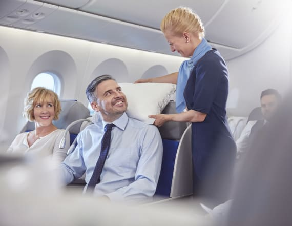 Here's how to get picked for an upgrade on a flight
