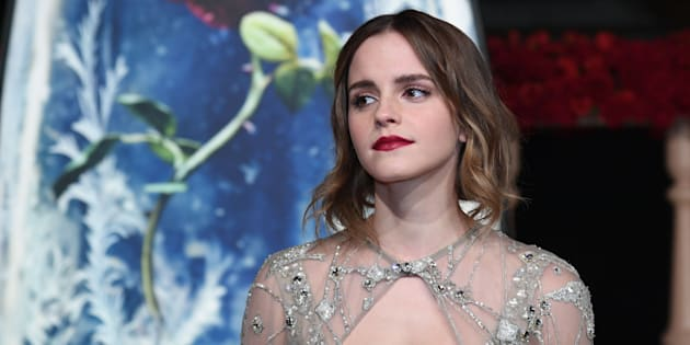 SHANGHAI, CHINA - FEBRUARY 27:  British actress Emma Watson attends the premiere of American director Bill Condon's film 'Beauty and the Beast' at Walt Disney Theatre on February 27, 2017 in Shanghai, China.  (Photo by VCG/VCG via Getty Images)