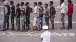 Crollo degli sbarchi di immigrati in