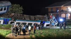 In un video il momento del violento impatto fra il treno regionale e il tir a