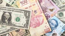 El peso cerró 2017 con ganancias; el dólar, con
