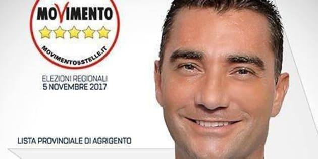 Fabrizio La Gaipa, uno dei candidati della lista M5s alle scorse regionali, � stato arrestato dalla squadra mobile di Agrigento con l'accusa di estorsione. +++ATTENZIONE LA FOTO NON PUO' ESSERE PUBBLICATA O RIPRODOTTA SENZA L'AUTORIZZAZIONE DELLA FONTE DI ORIGINE CUI SI RINVIA+++
