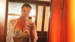 Kris Jenner montre à ses filles comment faire l'ultime selfie en
