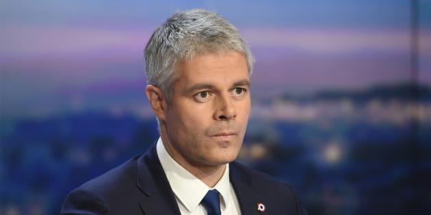 Laurent Wauquiez sur le plateau du 20 Heures de TF1  en décembre 2017.