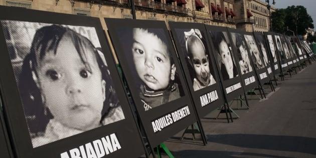 Padres y familiares realizaron una manifestación para conmemorar el noveno aniversario del incendio en la guardería ABC en Hermosillo, Sonora, donde murieron 49 niños. El contingente marchó por reforma hacía el Zócalo capitalino; exigieron justicia y mostraron el rechazo a los avances de las investigaciones por parte del gobierno.