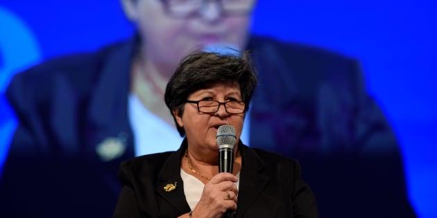 Catherine Barbaroux en novembre 2015.