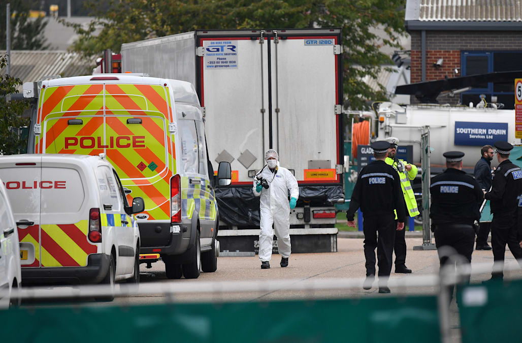 39 truck death victims in UK were all from China - AOL