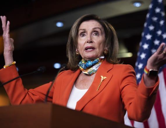 Pelosi: 'The president himself is a hoax'