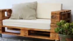Cómo hacer un sofá con