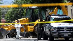 10 cuerpos enterrados dentro de una fosa clandestina en