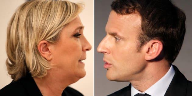 Voter Marine Le Pen ou Emmanuel Macron au second tour de l'élection présidentielle sera voter  pour ou contre l'Europ