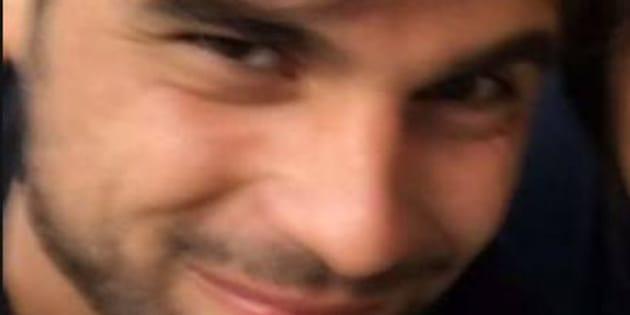 La foto di Alessandro Neri, 29enne di Spoltore (Pescara), scomparso da casa lo scorso 5 marzo e trovato morto oggi in una zona periferica di Pescara, tratta dal profilo facebook della madre Laura Lamaletto.