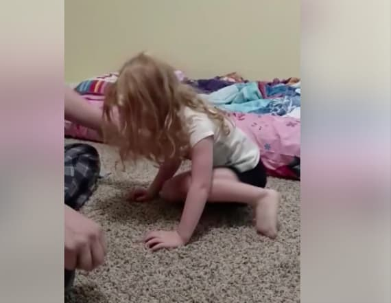 Video of girl paralyzed by tick goes viral