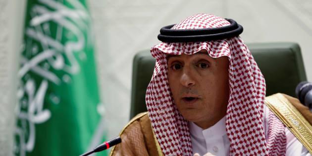 Le ministre des Affaires étrangères de l'Arabie saoudite, Adel Al-Jubeir.