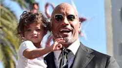 The Rock's Daughter Was The Highlight Of His Hollywood Walk Of Fame