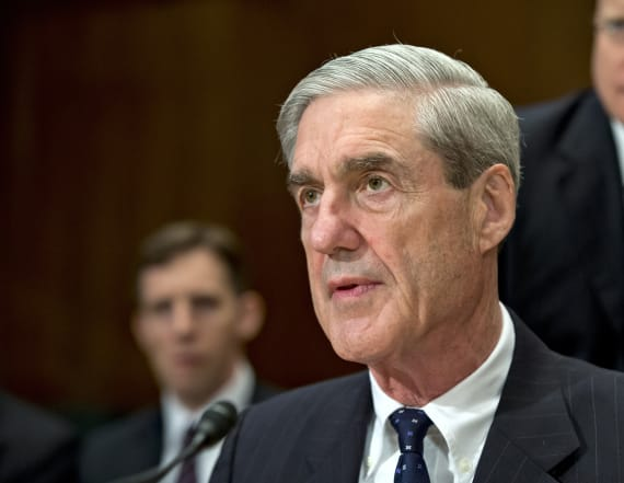 Trump says it's up to Barr to release Mueller report