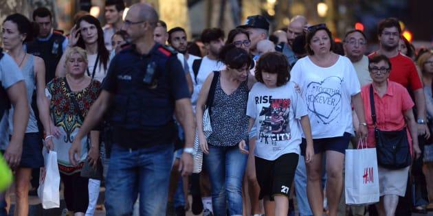 EI se atribuye atentado en Barcelona