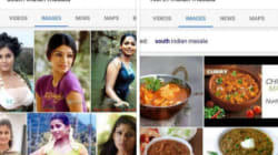 Why Is Google Showing Photos Of Actresses When You Search For 'South Indian