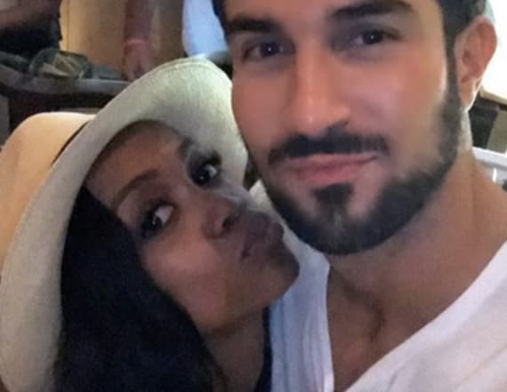 Rachel Lindsay packs on PDA with fiancé Bryan