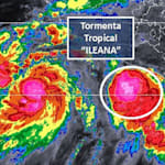 Ileana y John se forman en costas del suroeste; hay alerta en 5