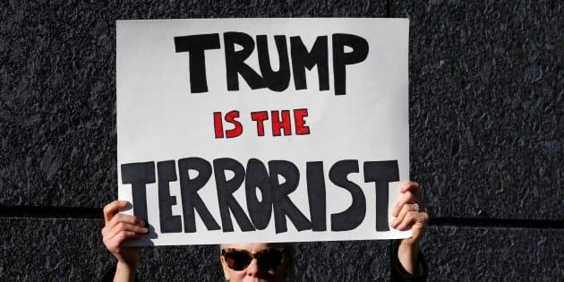 Trump et la confusion des ressentiments.  REUTERS/Toru Hanai