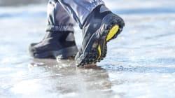 L'eau laisse la place à la glace sur les