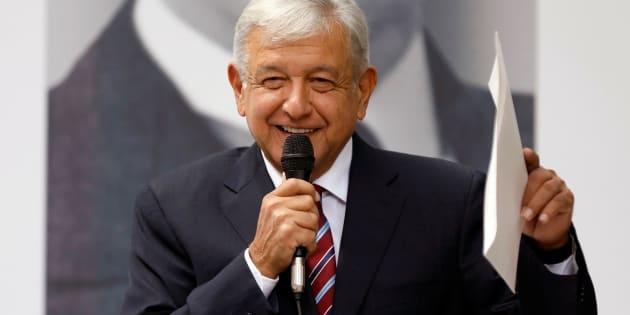 Andrés Manuel López Obrador llamó a las reporteras 'corazoncitos'
