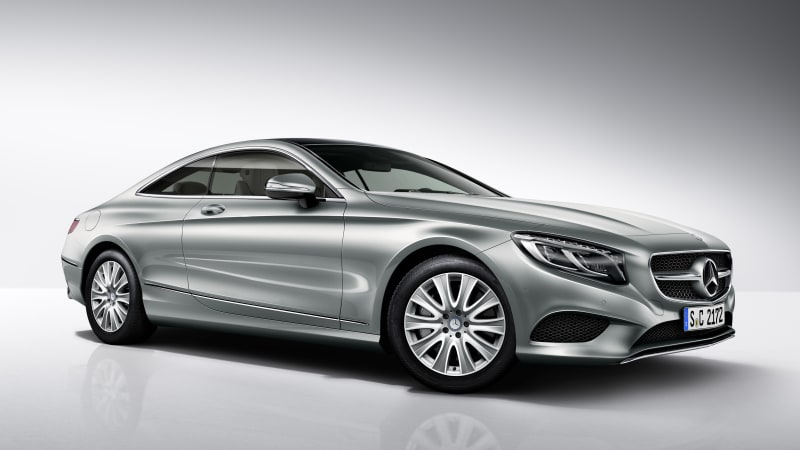 Mercedes Scores Another Point For Engine Downsizing With The Launch Of New S400 4matic Coupe Latest Addition To S Cl Family Is Essentially