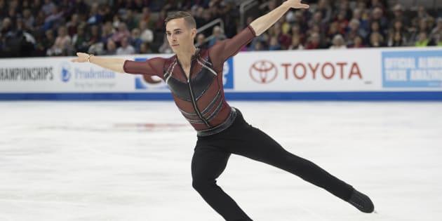 Le patineur américain Adam Rippon a critiqué la désignation de Mike Pence comme chef de la délégation américaine pour les JO 2018.