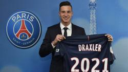 Le champion du monde allemand Julian Draxler a signé au