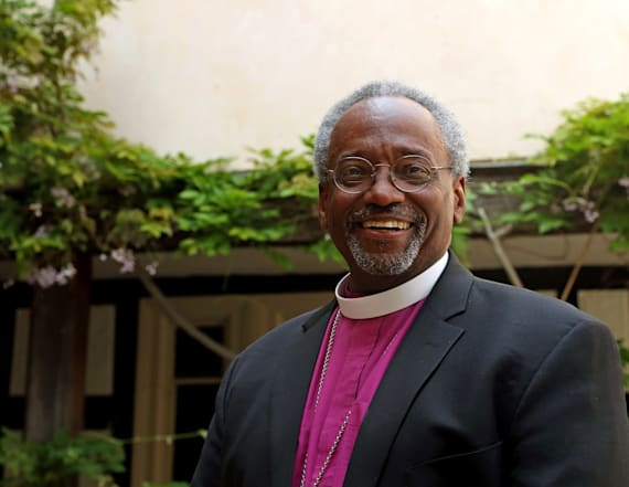 Bishop Curry details Harry and Meghan's love