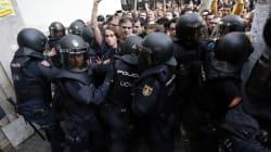 La police charge des manifestants à Barcelone, au moins 91 blessés en Catalogne dont 11