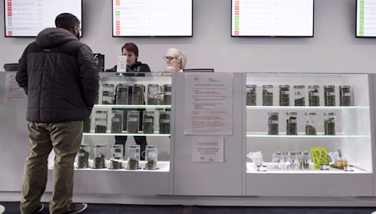 A Month Into Legalization, Illicit Cannabis Shops Alive And