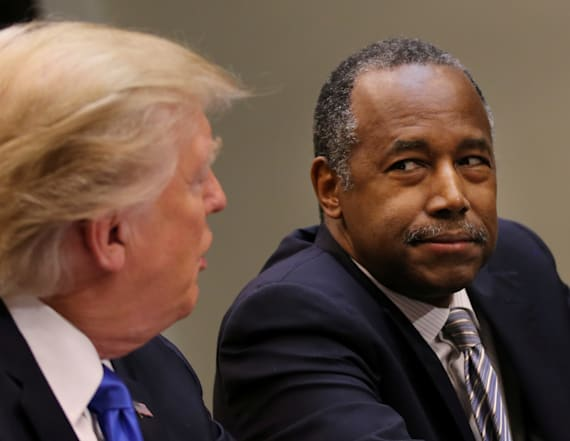 Ben Carson says Trump's drama is good for him