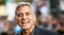 George Clooney victime d'un accident de scooter en