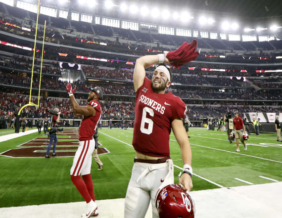 Oklahoma QB Baker Mayfield wins Heisman Trophy