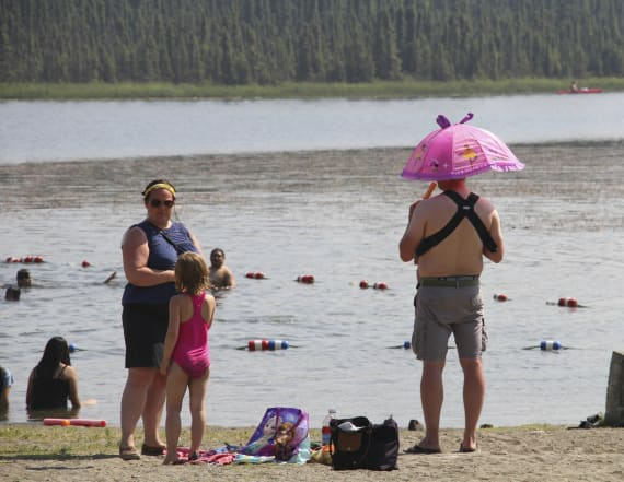Alaska records its warmest month ever in July