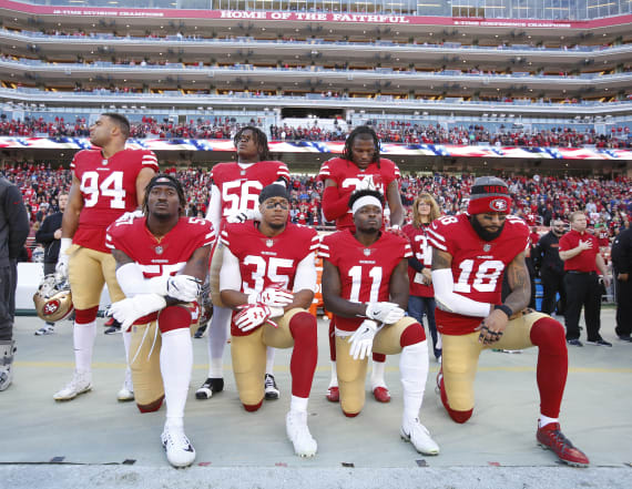 Poll: NFL fans overwhelmingly support anthem policy