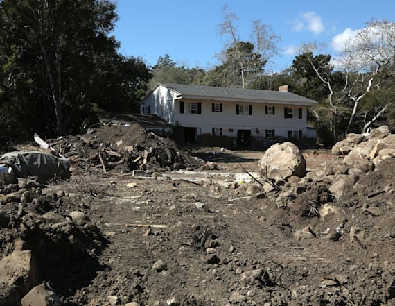 Calif. on guard as heavy rains may trigger mudslides