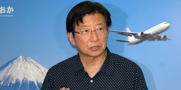 静岡県の川勝平太知事