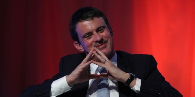 Manuel Valls en diciembre de 2017.