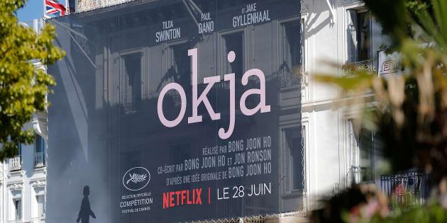 """En 2017, le film de Netflix """"Okja"""" avait concouru à Cannes, alors qu'il n'était pas diffusé au cinéma."""