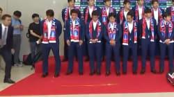 Éliminés du Mondial, les joueurs de la Corée du Sud accueillis par des jets d'œufs à