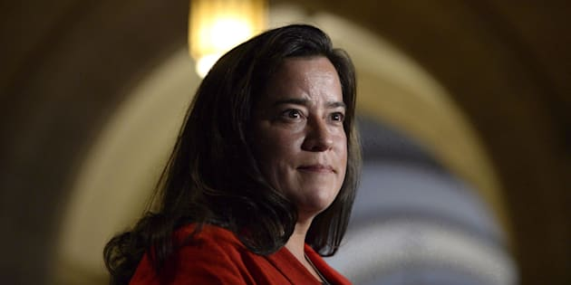 Minister of Justice Jody Wilson-Raybould speaks to members of the media on Parliament Hill in Ottawa on June 6, 2017.